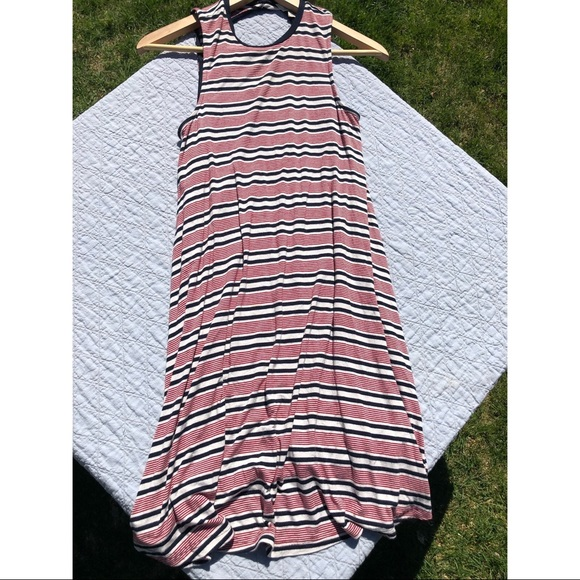 Stripped Soft Casual American Eagle Dress